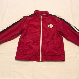 Gymboree Zip Front Baseball Jacket Sz 6